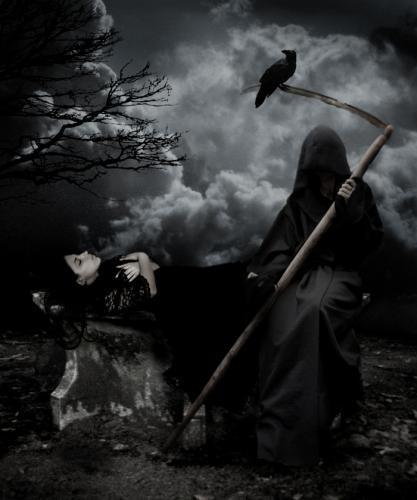 Célèbre La Grande Faucheuse | Mystères de la Dame Blanche et paranormal LF64
